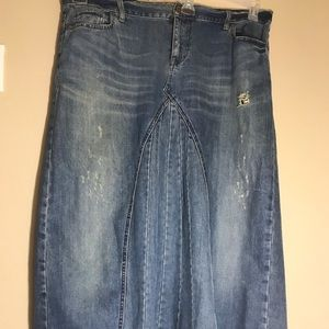 Old navy long denim skirt ( special edition)